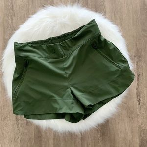 Athleta Green shorts
